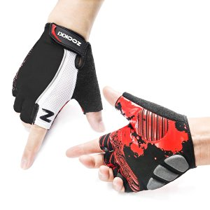 biking safety gloves for women finger less