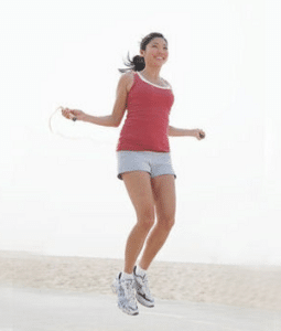 calories burned jumping rope