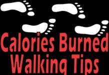 calories burned walking tips