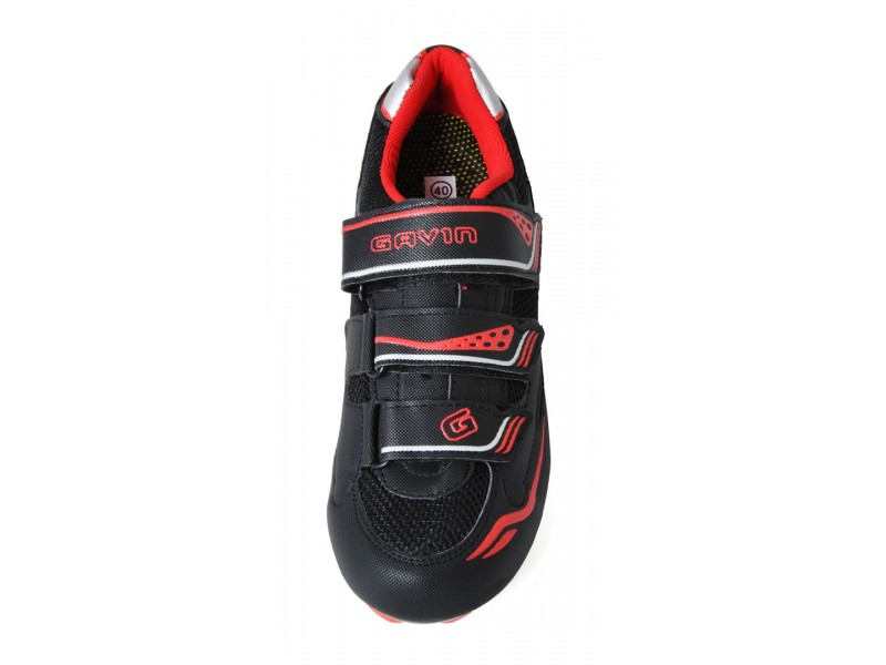 gavin velo wide road bike shoes top