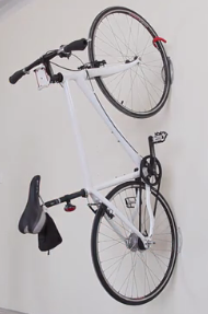 indoor bike rack vertical hook for garage