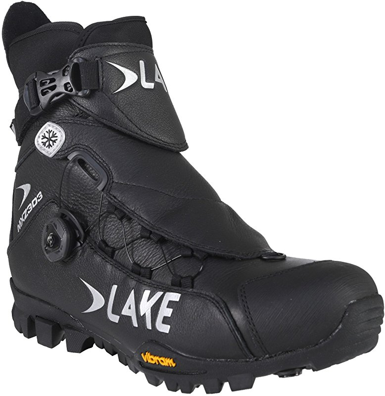 lake mxz 303 wide winter mountain bike shoes top