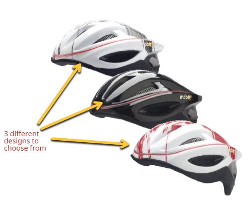 mobo 360 bike helmet with led light designs