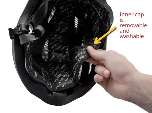 mobo 360 led helmet removable washable inner cap