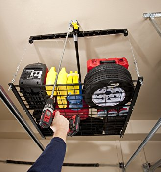 Motorized Ceiling Mounted Bike Storage Lift
