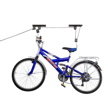 Bike Storage Pulley System