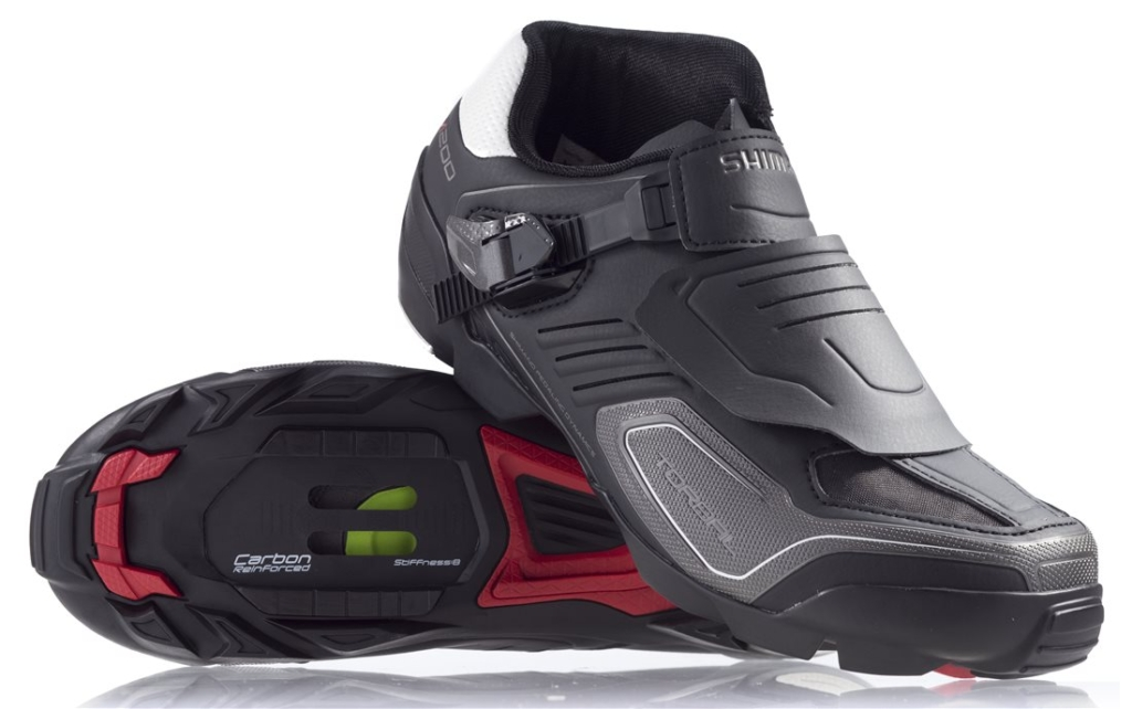 shimano sh-m200 wide mountain bike shoes pair
