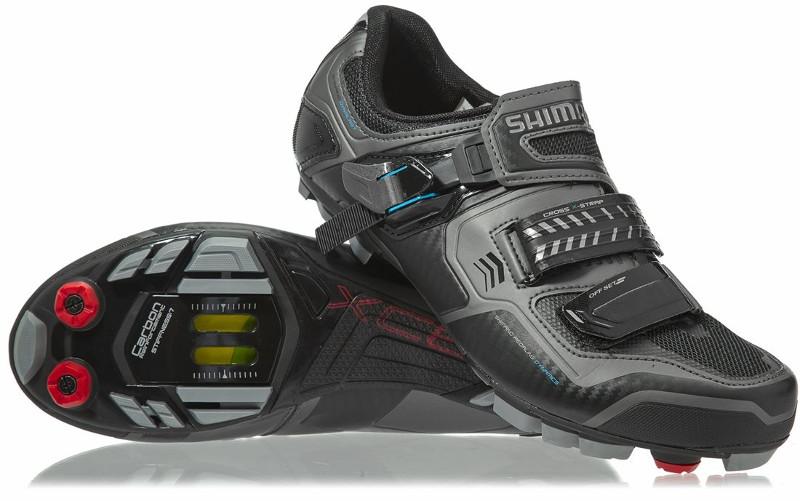 shimano sh-xc61le wide mountain bike shoes pair