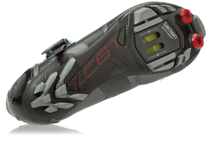 shimano sh-xc61le wide mountain bike shoes sole