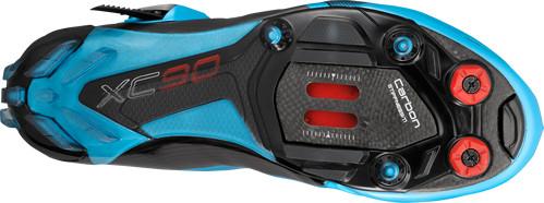 shimano xc90 blue sole
