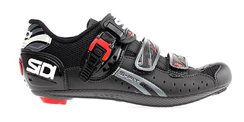 sidi ergo 4 mega wide road cycling shoes left cropped
