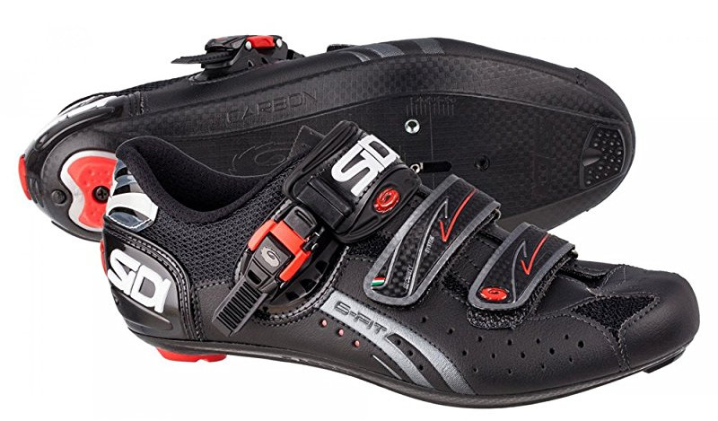 sidi ergo 4 mega wide road cycling shoes pair