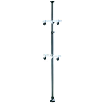 topeak vertical bike pole storage